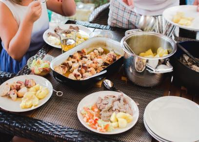 عزومات أول يوم رمضان في زمن الكورونا