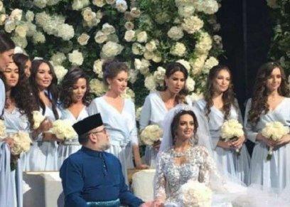 ملكة جمال موسكو تنفي الإشاعات حول انفصالها عن ملك ماليزيا السابق