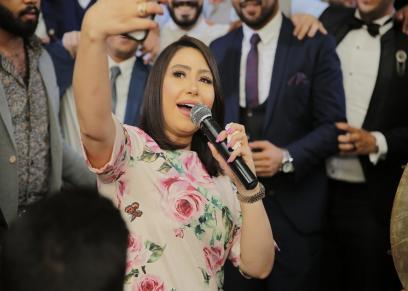 """بالصور ... رامي صبرى وبوسى واوكا واورتيجا و ماريس يتألقون فى زفاف """"محمود و فيروز"""""""