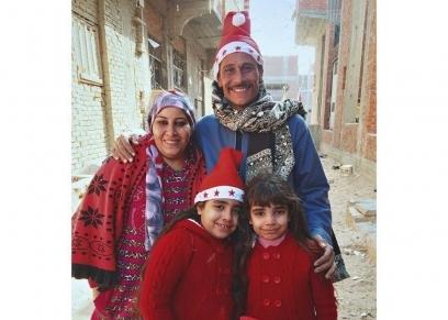 صورة الكريسماس بمؤسسة الزكاة