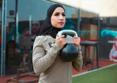 مدربة اللياقة البدنية نور محمد