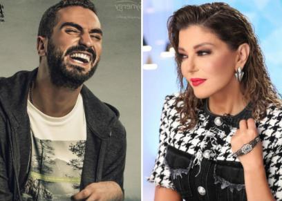 سميرة سعيد تهنأ محمد الشرنوبي لدوره في مسلسل نصيبى وقسمتك