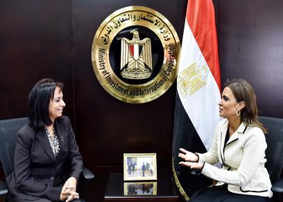 سحر نصر ومايا مرسي