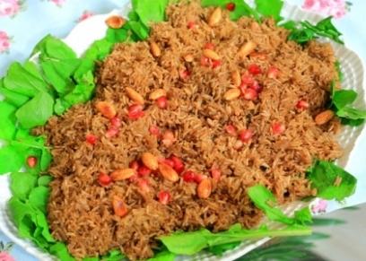 أرز بالبهارات