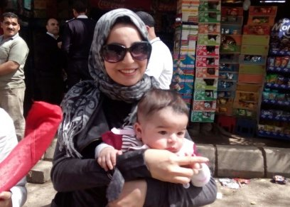 عمر محمود.. أصغر ناخب في مصر: عمره ٤ شهور ووالدته أصرت على وجوده في