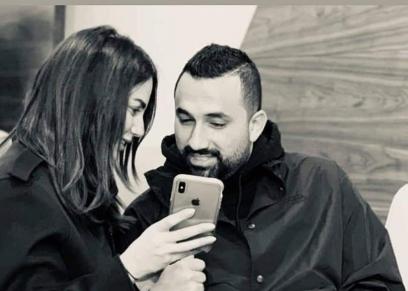 رجل الأعمال هاني سعد والفنانة درة