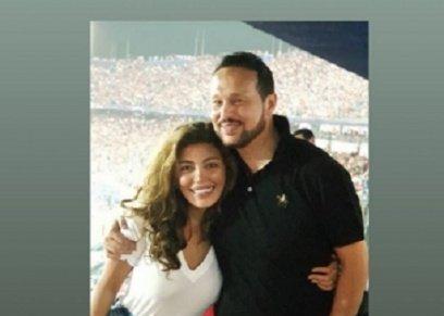 ريهام حجاج وزوجها