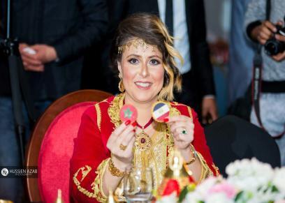 هاجر أعزيبو مصممة الأزياء المغربيه