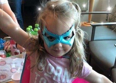 طفلة 3 سنوات تتمكن من انقاذ حياة والدها
