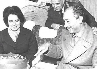 ذكرى ميلاد جيهان السادات