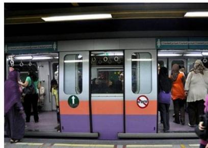 الولادة داخل مترو الأنفاق