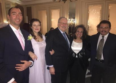 حفل عقد قران الأميرة فوزية حفيدة الملك فاروق