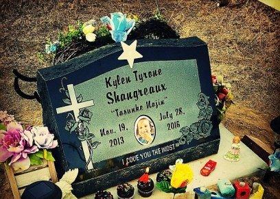 قبر الطفل الصغير كيلين