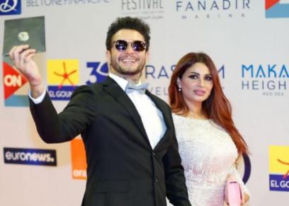 أحمد الفيشاوي ينفي شائعات خلافه مع زوجته
