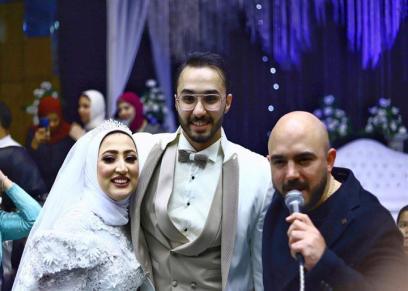 عقب مرور شهر العسيلي يفي بوعده لمعجبة ويحي فرحها.. والعروس لـ