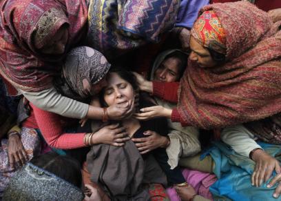 معاناة المرأة في الهند.. صورة أرشيفية