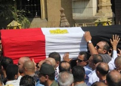 جنازة ابن الفنانة رجاء حسين