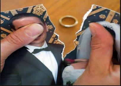 صورة تعبيرية عن الطلاق