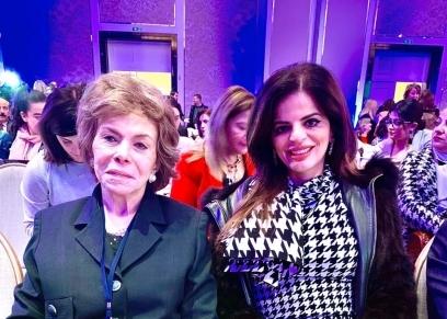 مرفت التلاوي والمهندسة زينب بشير