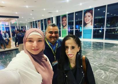 الشابة الجزائرية دنيا زاد