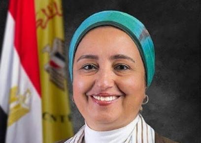الدكتورة لبنى هلال نائبة محافظ البنك المركزى