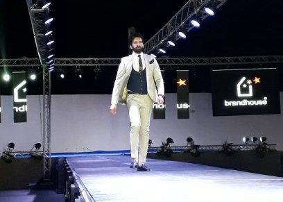 بالصور| أول عرض أزياء رجالي في مهرجان Middle East Fashion