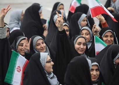 النساء الايرانيات