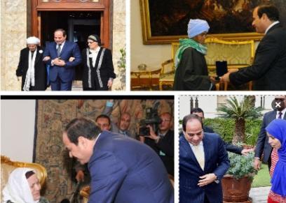 السيسي وسيدات مصر