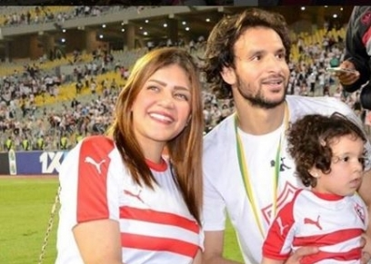 زوجة لاعب الزمالك محمود علاء