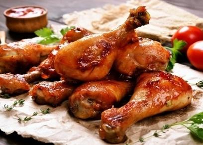 طريقة عمل دبابيس الدجاج بصوص الترياكي