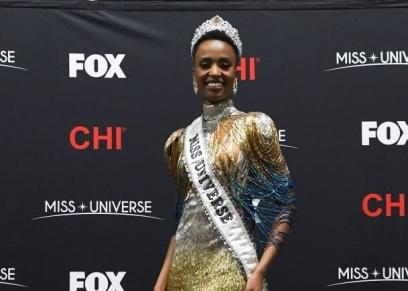 ملكة جمال الكون زوزيبيني تونزي
