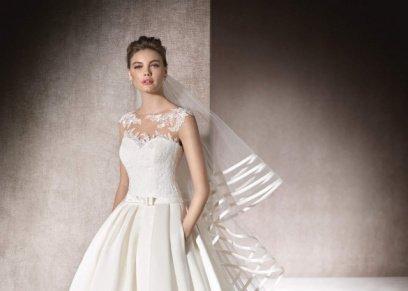 | أفضل فساتين الزفاف للعرائس النحيفات لعام 2017