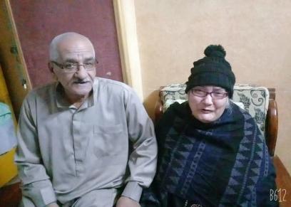 إبراهيم وزوجته نادية