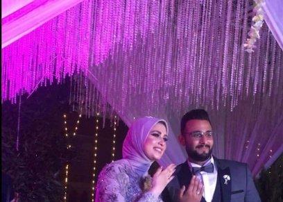 العروسين منة ومحمد
