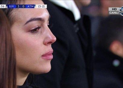 بكاء زوجة رونالدو