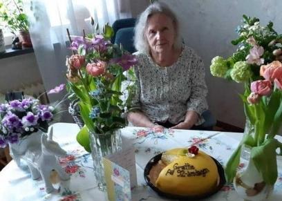 عيد ميلاد سيدة سويدية