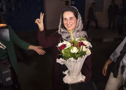 الصحفية المغربية هاجر الريسوني تغادر السجن بعد عفو ملكي