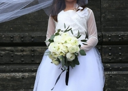 عروس في حفل الزفاف