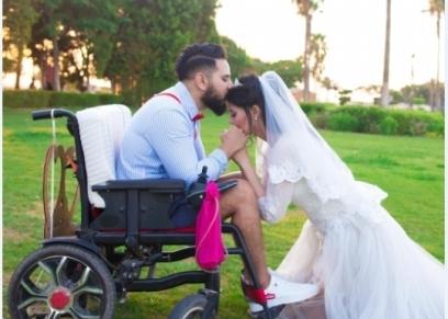 العروسان فاطمة ومحمد