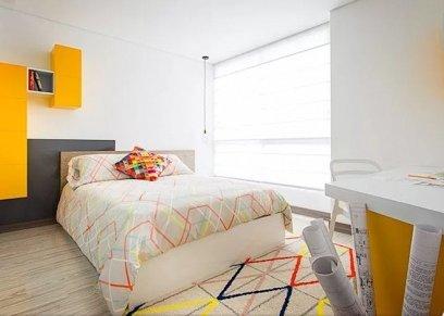غرف نوم بسيطة سهلة التنفيذ