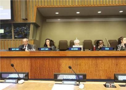 الأمم المتحدة تقدم التحية لمصر ولرئيس الجمهورية في تخصيص عام للمرأة