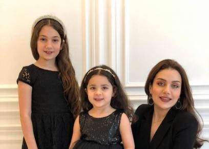 زينب فياض وابنتها