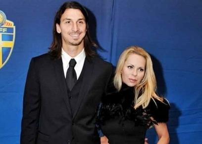 إبراهيموفيتش وزوجته