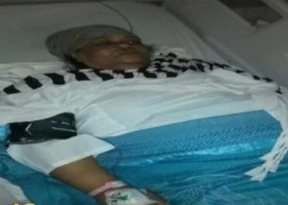 سيدة تسقط في بئر اسانسير بالدور الرابع بمستشفى السويس العام