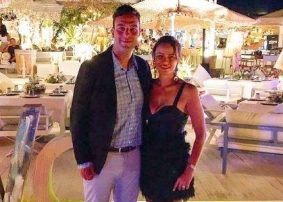 أحمد حسام ميدو وزوجته يسرا الليثي