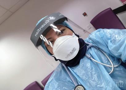 الطبيبة المصرية مروة سالم
