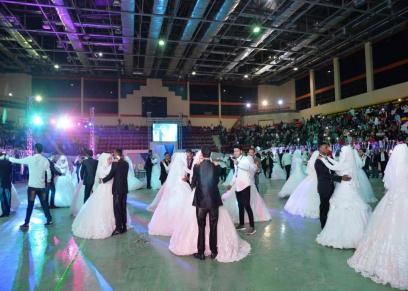 حفل زفاف جماعى