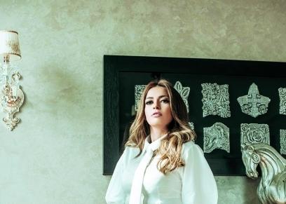 الفنانة داليا مصطفى