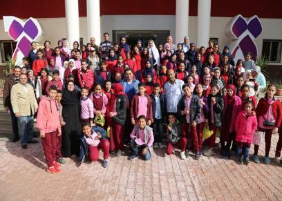القومي للمرأة ينظم لقاء لطلاب مدرسة الشهيد هشام عبد العزيز في إطار حملة مناهضة العنف ضد المرأة