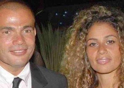 عمرو دياب وزينة عاشور